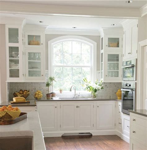 Kitchen Cabinet Paint Color Benjamin Moore Oc 17 White White Dove Kitchen Cabinets