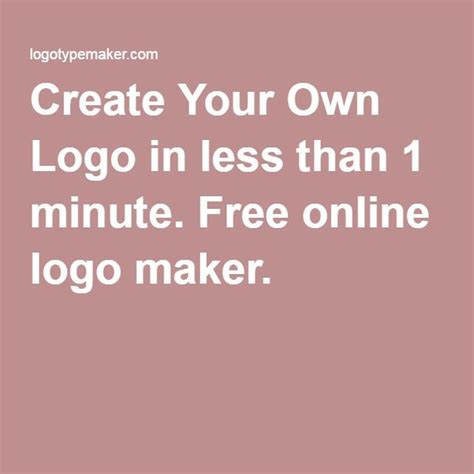 design your logo online 1000 ideas about logo maker free on pinterest free logo
