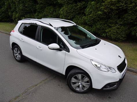 white peugeot 2008 used white peugeot 2008 for sale surrey