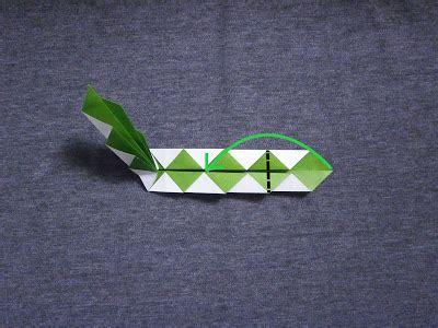 Easy Origami Snake - katakoto origami how to fold an origami snake