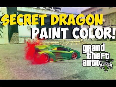 """gta 5 online amazing """"dragon paint color"""" paint colors"""