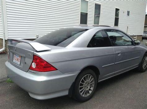 2005 honda civic 2 door coupe find used 2005 honda civic ex coupe 2 door 1 7l in west
