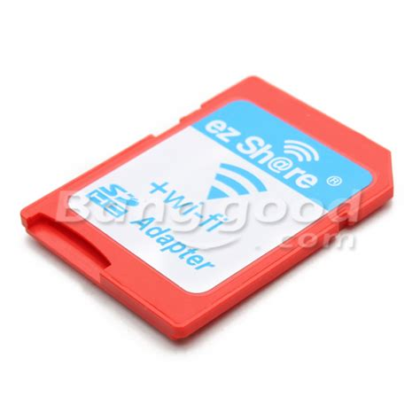 Micro Sd Card 4gb V Adapter ezshare wifi wireless micro sd adapter met ld 4gb class 10