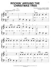 rockin around the christmas tree sheet music by brenda