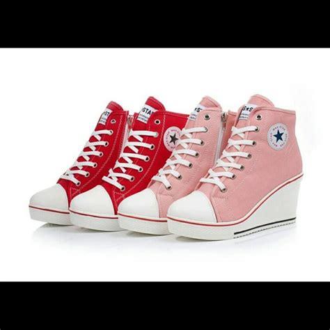 converse wedge high heels 34 converse shoes wedge high heels sneakers