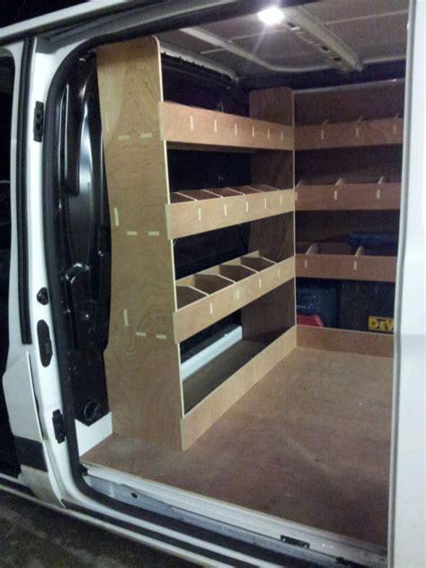ford transit custom van racking swb complete 12mm