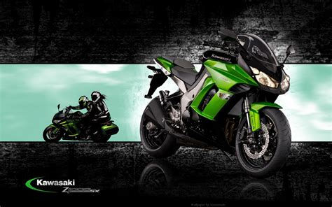 Ninja Motorrad Mobile by Kawasaki Wallpaper