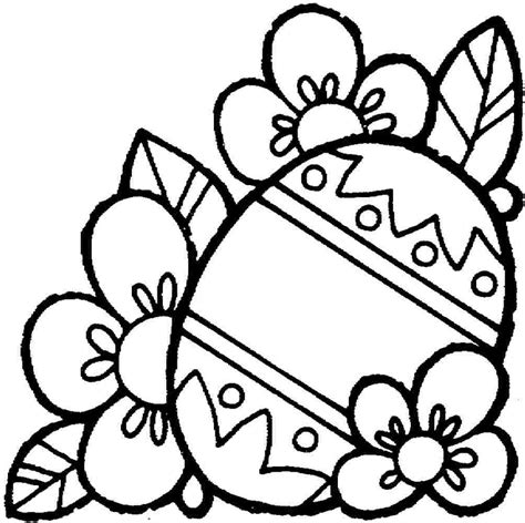 coloring in pages for easter free easter egg templates clipart best