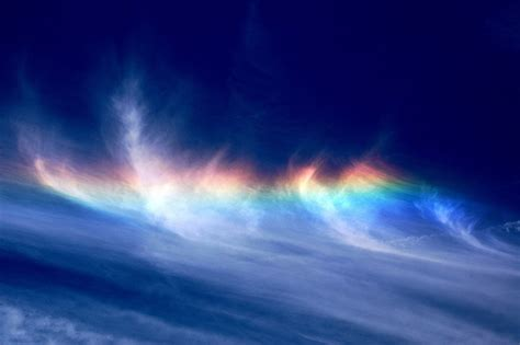 rainbow cloud rainbows the colors of weather