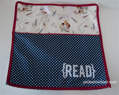on the go reading pillow tutorial the polkadot chair