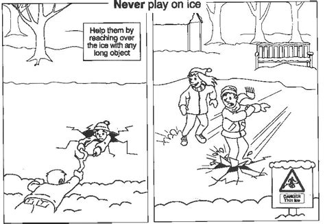coloring pages water safety free coloring pages of water safety