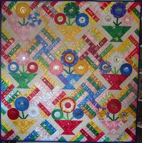 show ribbon quilt crafts