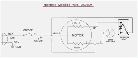 compressor start capacitor wiring diagram wiring diagram