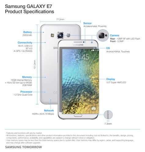 Samsung J7 Dan E5 Samsung Announces The Launch Of Galaxy E7 And Galaxy E5