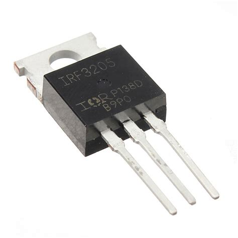 10pc irf3205 irf3205pbf fast switching power mosfet transistor n channel t0220 in transistors