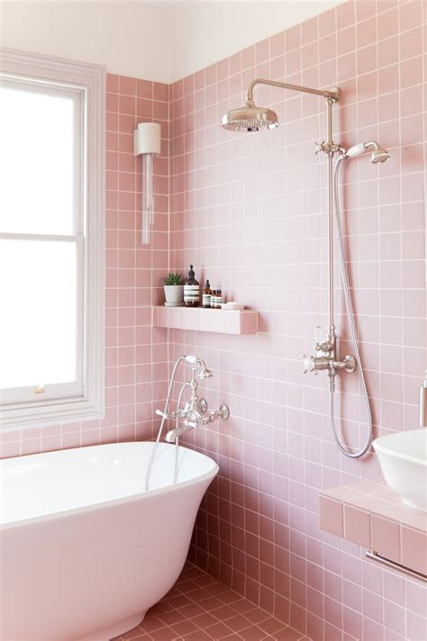 Badezimmer Fliesen Rosa by Pink Bathroom Tiles Bathroom Design Ideas