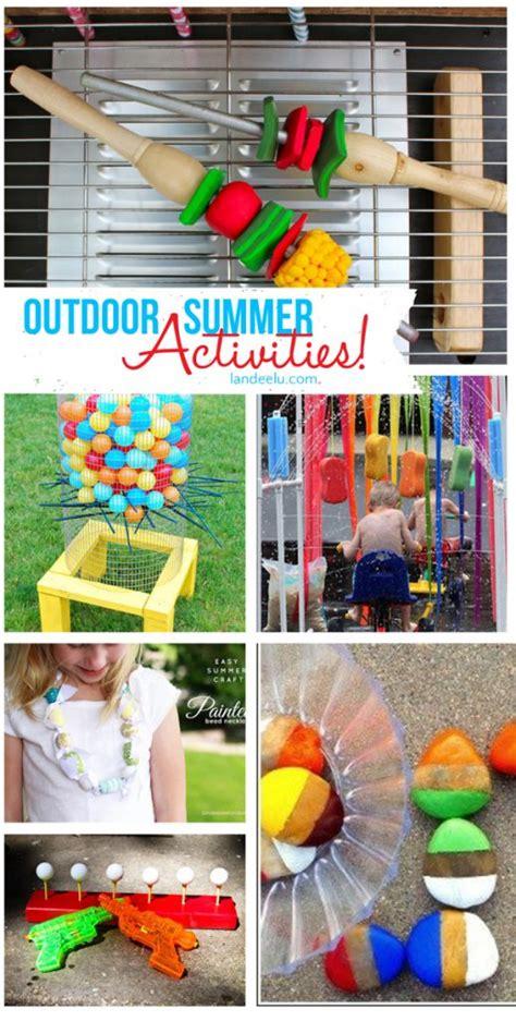 backyard fun ideas outdoor diy summer activities for kids landeelu com