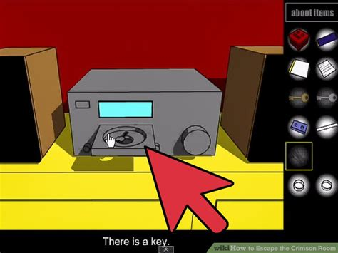 crimson room how to escape the crimson room with pictures wikihow