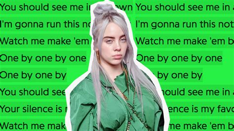 billie eilish you billie eilish s new single quot you should see me in a crown