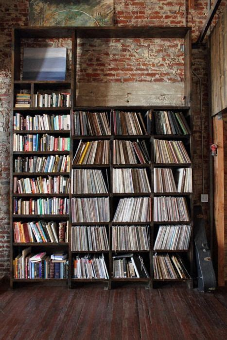 record shelves for the home