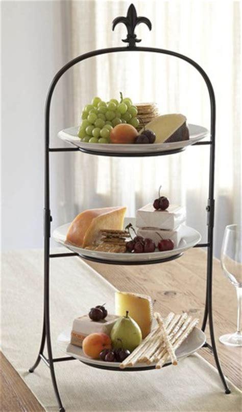 three tier buffet server three tier fleur de lis finial buffet server gift ideas