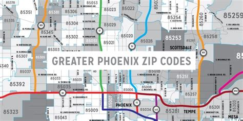 printable zip code map phoenix maps arizona mortgage lender the house team mortgage