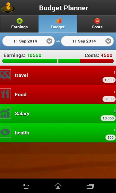 free home budget planner apk for android getjar