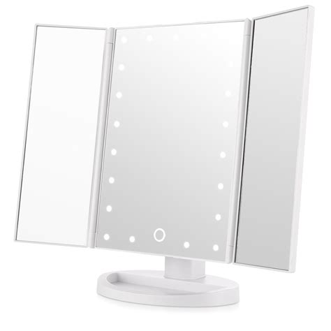 tri fold lighted makeup mirror 21 amazing gift ideas for makeup best makeup