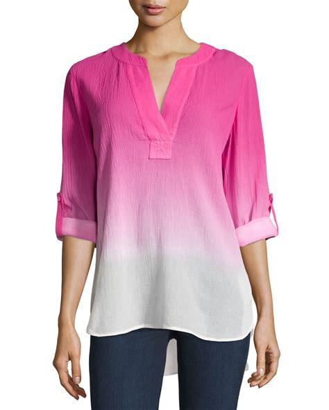 Blouse Zea Blouse Kantor Blouse Fashion Blouse Polos Blouse Casual Sw blouse cotton blue denim blouses