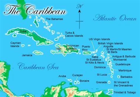 caribbean sea map points of ification caribbean context what is it