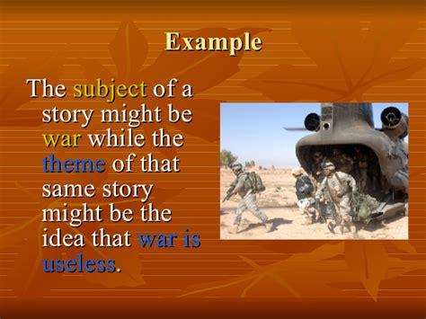 theme definition literature exle theme in literature