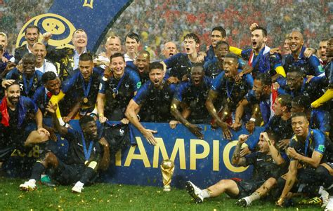 coupe du monde 2018 football coupe du monde 2018 le jour de gloire est vraiment