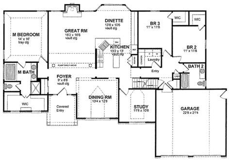 split bedroom ranch with bonus 3653dk 1st floor master split bedrooms 19590jf 1st floor master suite den
