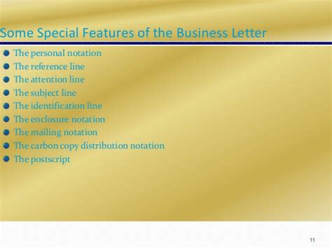 features of layout of a business letter session 3 bus com