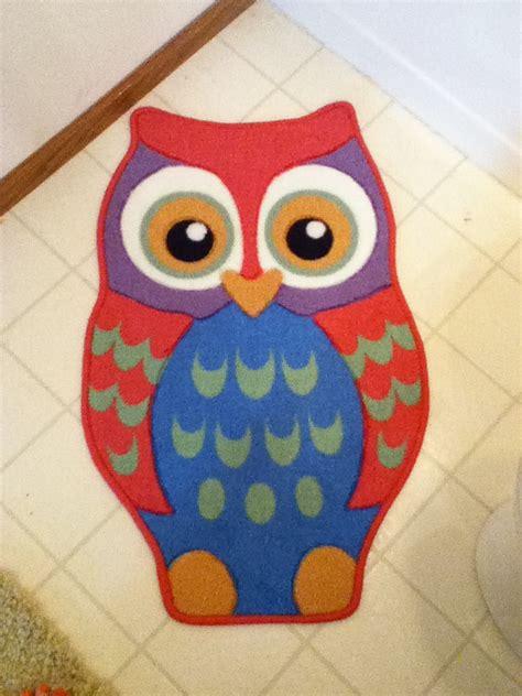 Owl Bathroom Rug Owl Bathroom Pinterest Owl Rug