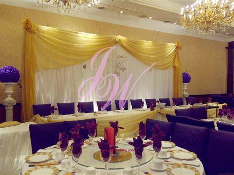 #Theme of #Wedding: #Yellow & #Purple   Joyce Wedding Services
