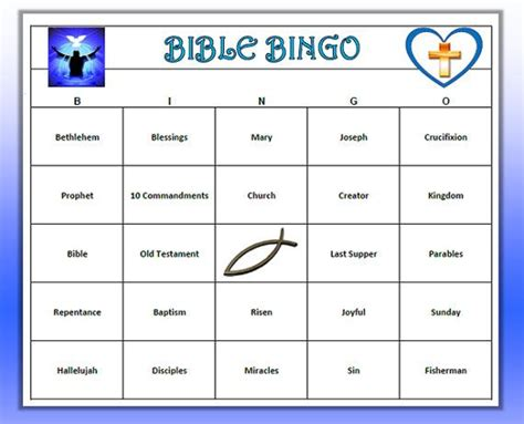 printable bible card games bible bingo game great for youth group bible study or