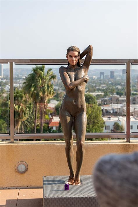 Rachel McCord Topless In Mud Photo Shooting Scandal Planet