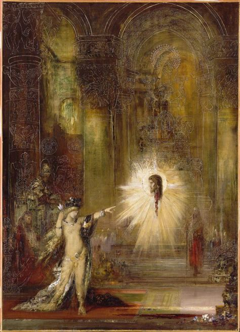 The Appartion by Gustave Moreau L Apparition The Apparition Undated