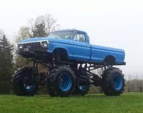 Ford Mud Trucks Ford Mud Truck 4x4 Lifted Road