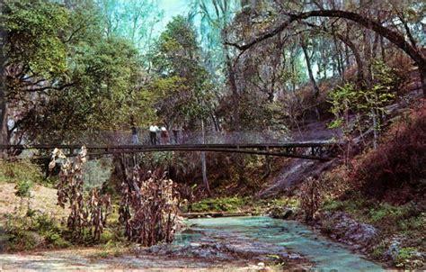 swinging in florida florida memory swinging bridge in the ravine state