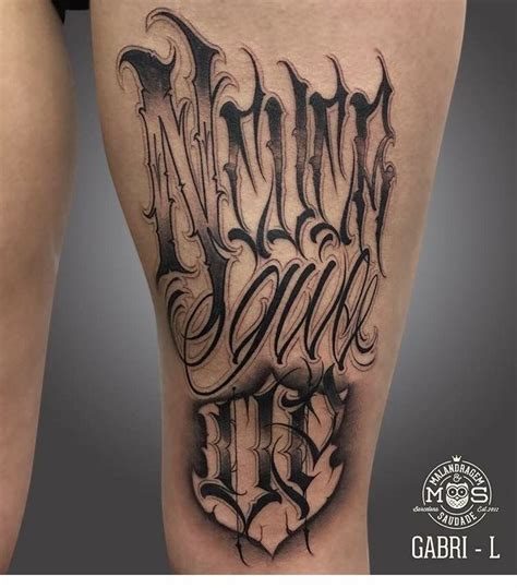 tattoo fonts joined up never give up what it says allen s ideals