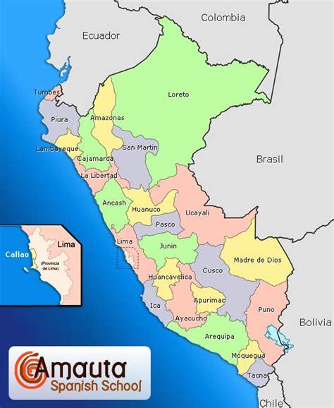 maps  peru peru overview