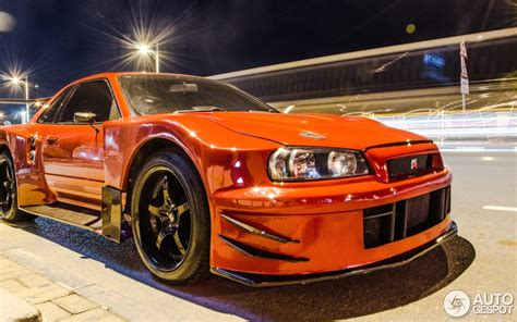 nissan skyline r34 custom nissan skyline r34 gt r v spec ii n 252 r 5 april 2014
