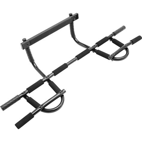 Iron Pull Up Bar Multi Grip Chin Up Bar Pullupbar Chinupbar 3 convenience boutique multi grip chin up pull up bar heavy duty doorway trainer home workout