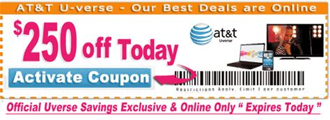 Att Uverse Gift Card Promotion - att uverse coupon code coupon for shopping