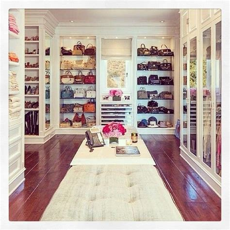How Big Does A Walk In Closet Need To Be by Walk In Closet With All Of The Handbags