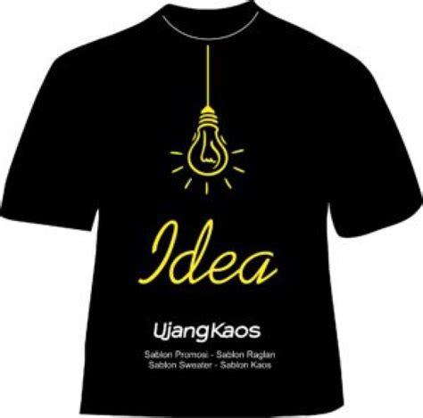 Kaos Ujang desain sablon kaos sendiri jasa sablon kaos vendor