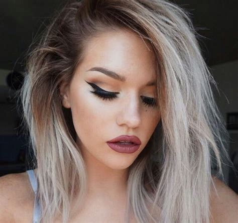 silver blonde root shadow hair ideas pinterest 1000 ideas about silver ash on pinterest ash blonde