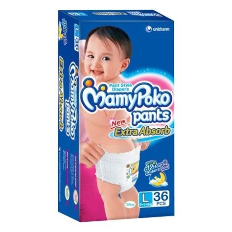 Mamy Poko L 36 mamy poko l 36 9 14kg at best prices shopclues shopping store